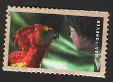 """US. 4829. (Forever) Fawkes the Phoenix. Booklet """"Harry Potter"""" Single. MNH. 2013"""
