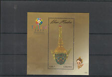Ghana 2013 MNH Khon Masks 1v S/S Thailand 2013 World Stamp Magnificent Heritage