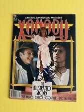 Xanadu Illustrated 1980 marvel special ed magazine Olivia Newton -John signed