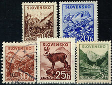 Slovakia Mountains scenes stamps set 1940 MLH/U