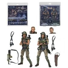 NECA ALIENS HICKS & HUDSON Figure in1 Pack Marines Special Edition Action Figure