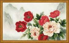 Cross stitch kit RIOLIS 0050 PT Oriental Bouquet