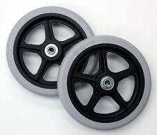 "Rollator Walker Wheel Accessory Parts 6"" Caster Bearings C46 2 pcs Brand NEW"