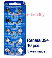 Renata SR936SW 394 Silver Oxide coin Battery x 10 pcs FREE Post with tracking
