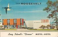 Roosevelt, NEW YORK - Roosevelt Motel - Long Island - 1959 - ROADSIDE