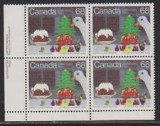 1985 Canada SC# 1069 LL Christmas Santa Claus Parade Plate Block M-NH Lot# 1782