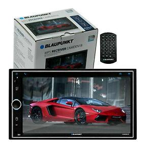 """Blaupunkt CAMDEN18 6.9"""" Touchscreen SD USB Double 2 Din Receiver w/ Bluetooth"""