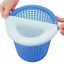 Swimming Pool Spa Skimmer Basket Filter Savers Fine Mesh Bag Socks 5 Pack