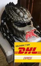 Predator motorcycle helmet. FREE SHIPPING! DOT&ECE certified. Cosplay mask