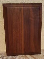 "Solid Walnut Blank Wood Plaque 6"" x 8"" FREE SHIPPING B4B16"