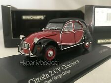 MINICHAMPS 1/43 Citroen 2CV Charleston 1980 Red/Black Art. 400111500