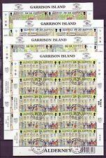 Gestempelte Briefmarken aus Großbritannien mit Geschichts-Motiv