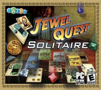 JEWEL QUEST SOLITAIRE a Tri-Peaks Game for PC  XP Vista Win 7 8 10  Brand New