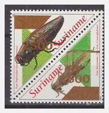 Surinam / Suriname 2001 Kever beetle kafer coleoptere overprint 2500 MNH