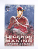 2018 Topps Series 2 SHOHEI OHTANI Legends in the Making Rookie Blue Parallel SP