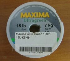 X5 Maxima Ultra Green 100m 15lb Fishing Line