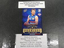 2016 AFL PREMIERSHIP CARD WESTERN BULLDOGS PC19 JOEL HAMLING