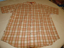 Ecko Unltd. The Dwyer woven L cotton short sleeve button up shirt casual EUC @