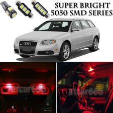 23X Red LED Interior Light Bulb Package Kit For Audi A4 S4 B6 B7 Sedan 2002-2008