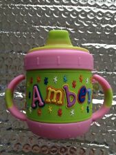 Personalized  I.D. Gear sippy cup  Amber