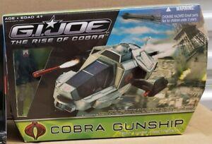 "G.I. Joe Rise of the Cobra: Cobra Gunship Vehicle 3.75"" Figure Set w/Firefly"