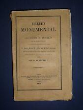DE CAUMONT. Bulletin monumental - Recueil annuel 1856