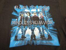 """Mindless Behavior """"#1 Girl Tour""""  2012 Concert Tour T-Shirt Medium  R2"""