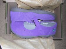 NEW Girl's  Keen Luna MJ Leather Shoes Size US 5 Youth/ Color Purple