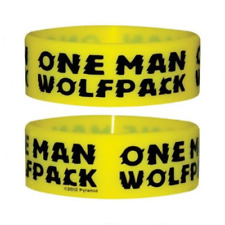 *NEW* One Man Wolfpack Silicon / Rubber Wristband BY PYRAMID