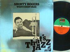 Shorty Rogers US Reissue LP West coast jazz NM Atlantic ATL50247
