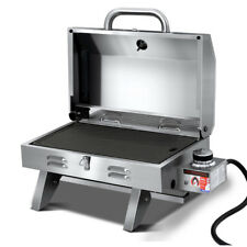 Grillz Portable Gas Tabletop Grill - PGB-1B-HP-SS-AB