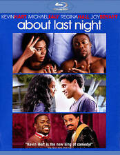 About Last Night (Blu-ray Disc, 2014,) Kevin Hart, Regina Hall, Michael Ealy