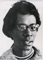 Shirley Chisholm, U.S. Politikerin, Orig. Presse-Photo v. 1969