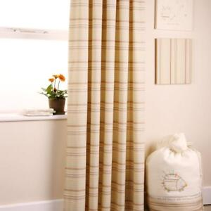 Baby Spike and Buzz Tab Top Long Curtains 167cm x 183cm Nursery Decoration