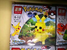 Zhbo Pokemon Deluxe Build Figures Picachu