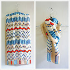 Colorful strips 100% pure silk women men summer classic long scarf P702329