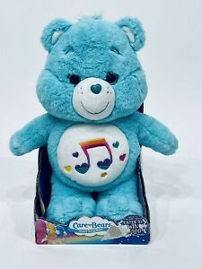 """CARE BEAR HEARTSONG BEAR NEW PLUSH WITH TAG 13"""" BY JUST PLAY 2017"""