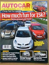 Autocar Magazine - 16 April 2008 - Honda Accord Passat CC Laguna GT Hyundai i800