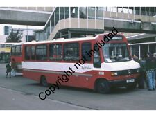 BUS PHOTO: RED & WHITE MERCEDES 811D 307 J307UKG