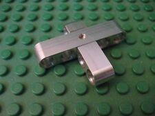 "5 X 4 ""Cross"" shape aluminum construction beam. Works with Lego Technic kits."