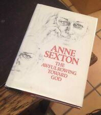 The Awful Rowing Toward God ANNE SEXTON 1973 First POEMS Free US Shipping LOOK