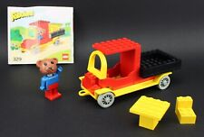 LEGO Fabuland 329 Bernard Bear and Pickup Truck Complete With Instructions