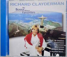 RICHARD CLAYDERMAN, MY BOSSA NOVA FAVORITES, SEALED 13 TRACK CD ALBUM FROM 1997