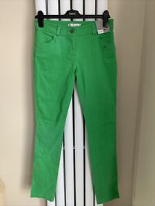 TOPSHOP Ladies Green Jeans / Trousers - Size 10 UK / 38 EUR - NEW - RPP £32