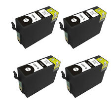 4 Black Ink Cartridge for Epson Stylus WF-3010DW WF-3520DWF WF-3530DTWF T