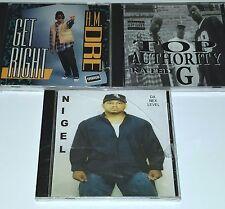 NIGEL Next Level PRIVATE 3 CD Lot SEALED RANDOM G Funk RAP nwa 2pac wu tang lp