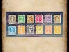 US Stamps Scott 704-715 Washington Bicentennial Set of 12 Single Stamps OG MNH