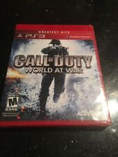 Call of Duty: World at War Red Greatest Hits  Brand New Factory Sealed