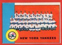 1963 Topps #247 New York Yankees VG-VGEX WRINKLE Mickey Mantle Roger Maris
