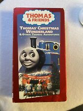 Thomas & Friends Christmas Wonderland & Other Thomas Adventures VHS